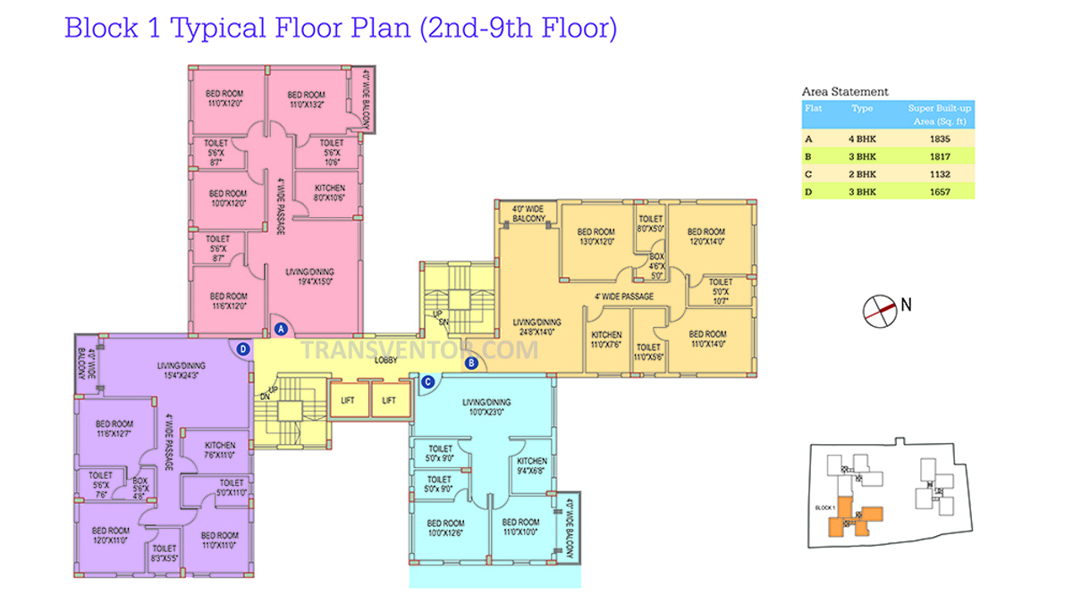Space Club Town Riverdale Floor Plan 3