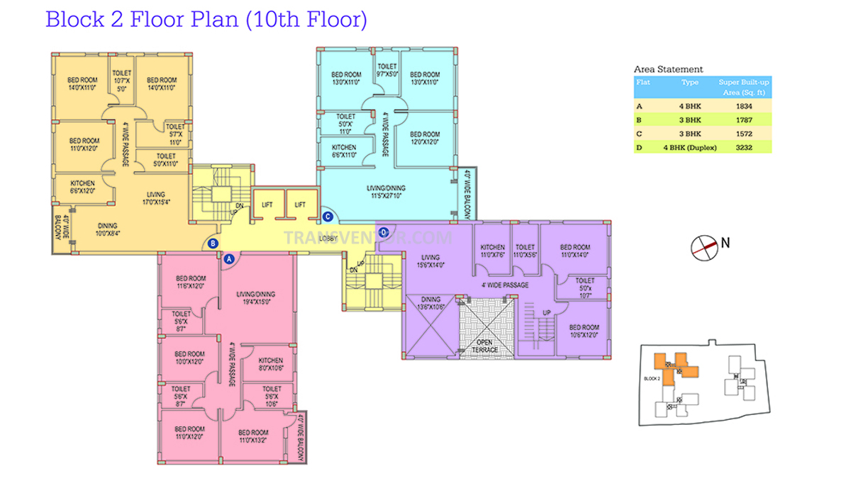 Space Club Town Riverdale Floor Plan 5