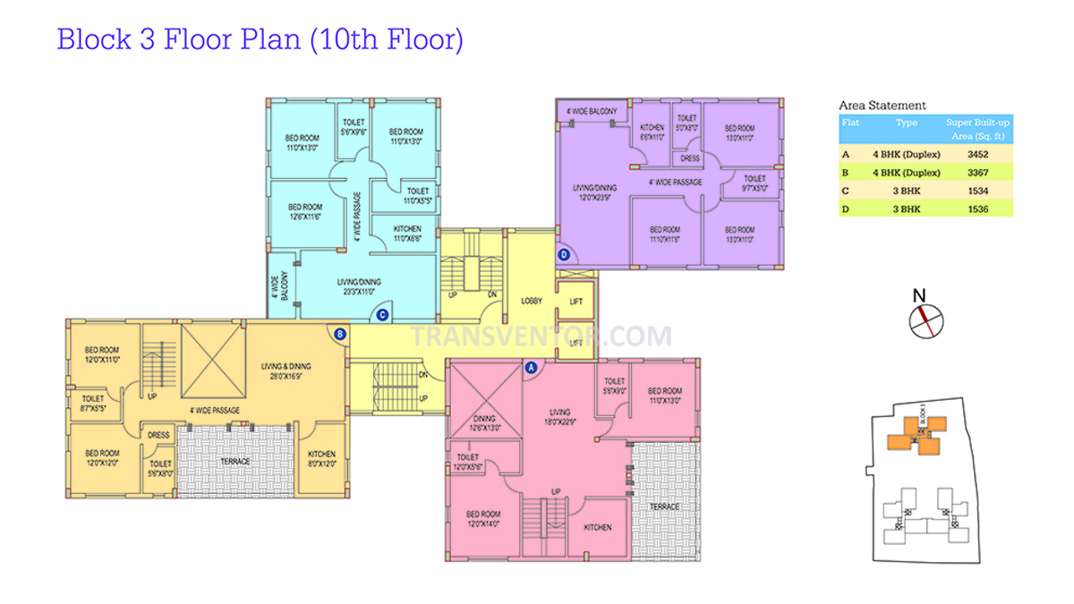 Space Club Town Riverdale Floor Plan 7