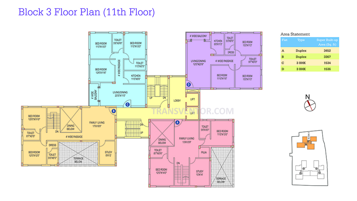Space Club Town Riverdale Floor Plan 8
