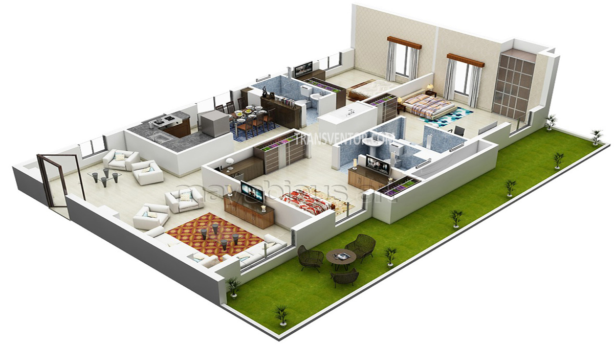 Sugam Habitat Floor Plan 2