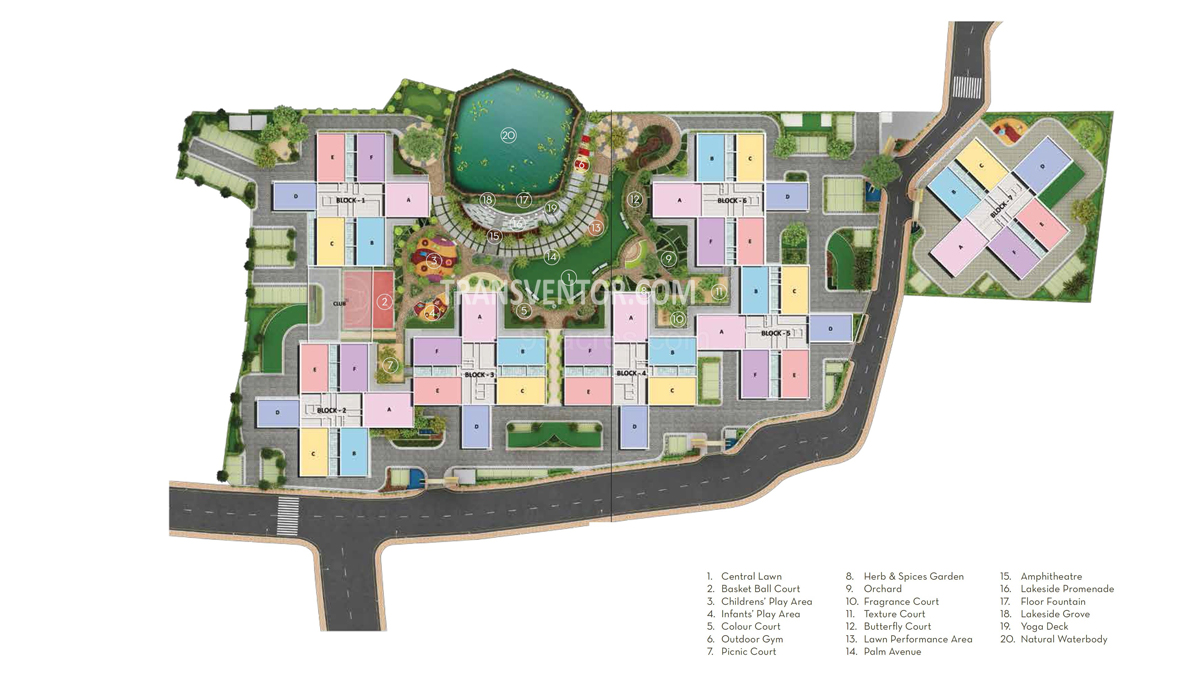 Sugam Habitat Floor Plan 1