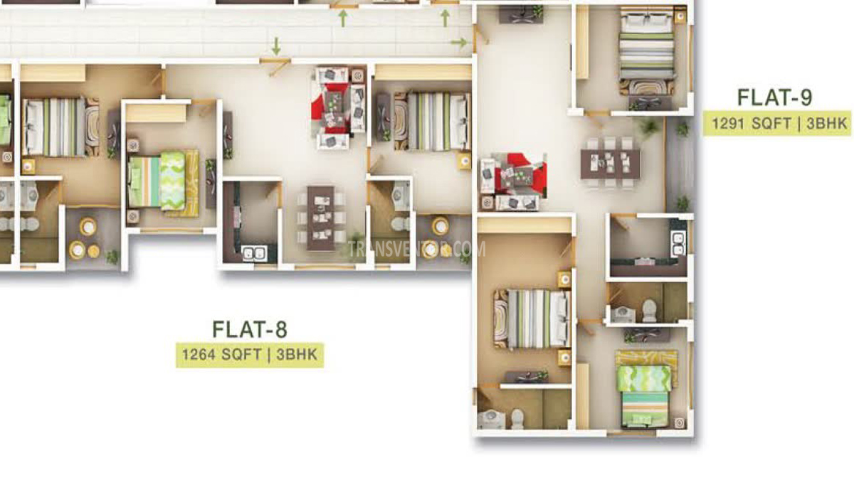 Sugam Serenity Floor Plan 3