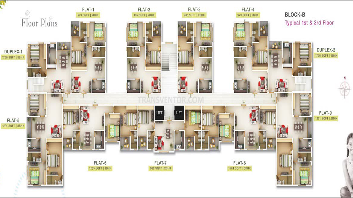 Sugam Serenity Floor Plan 5