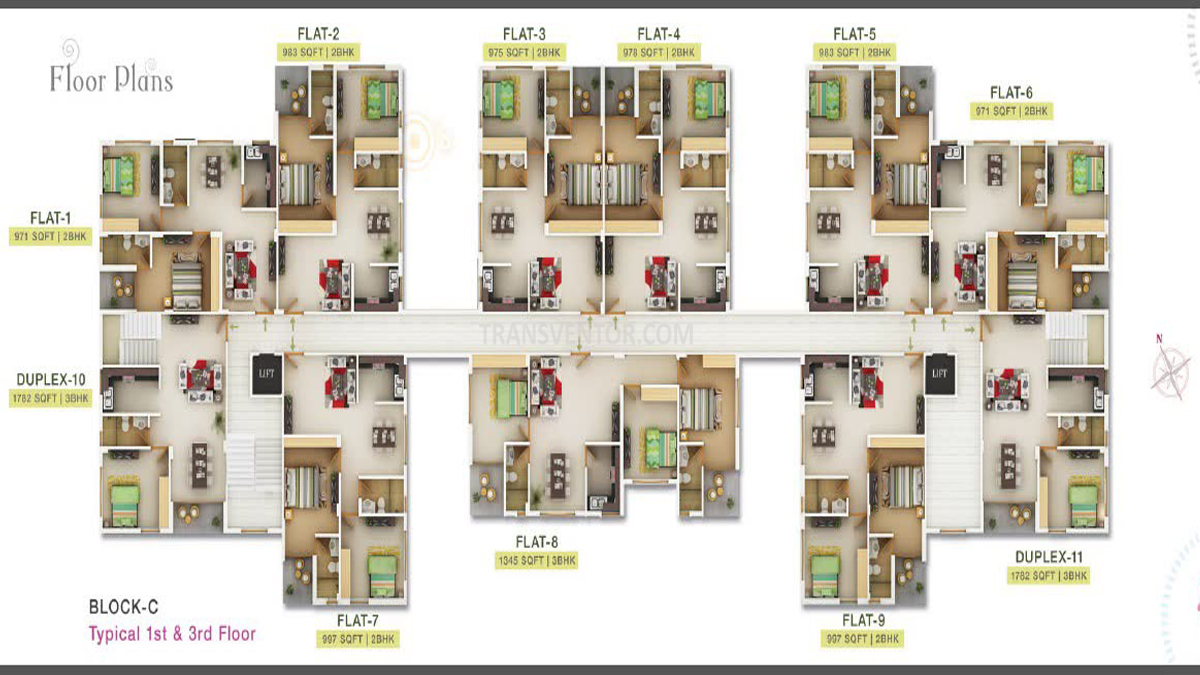 Sugam Serenity Floor Plan 6