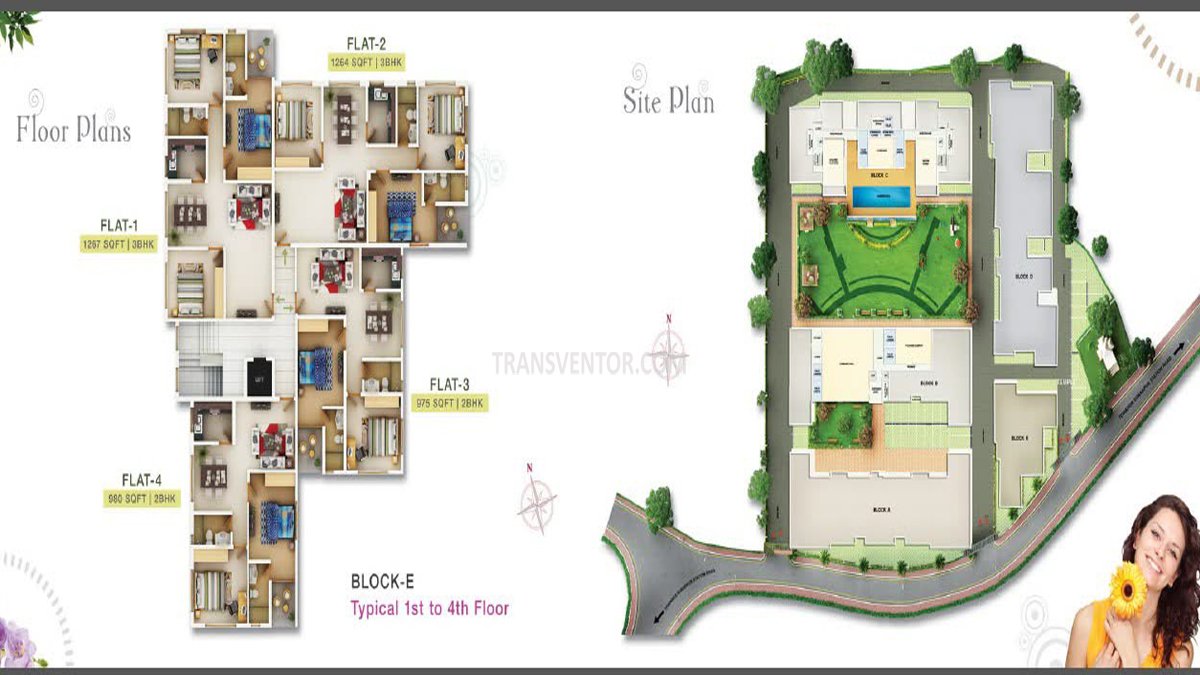 Sugam Serenity Floor Plan 1