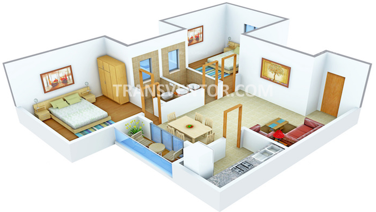 Sugam Sudhir Floor Plan 1