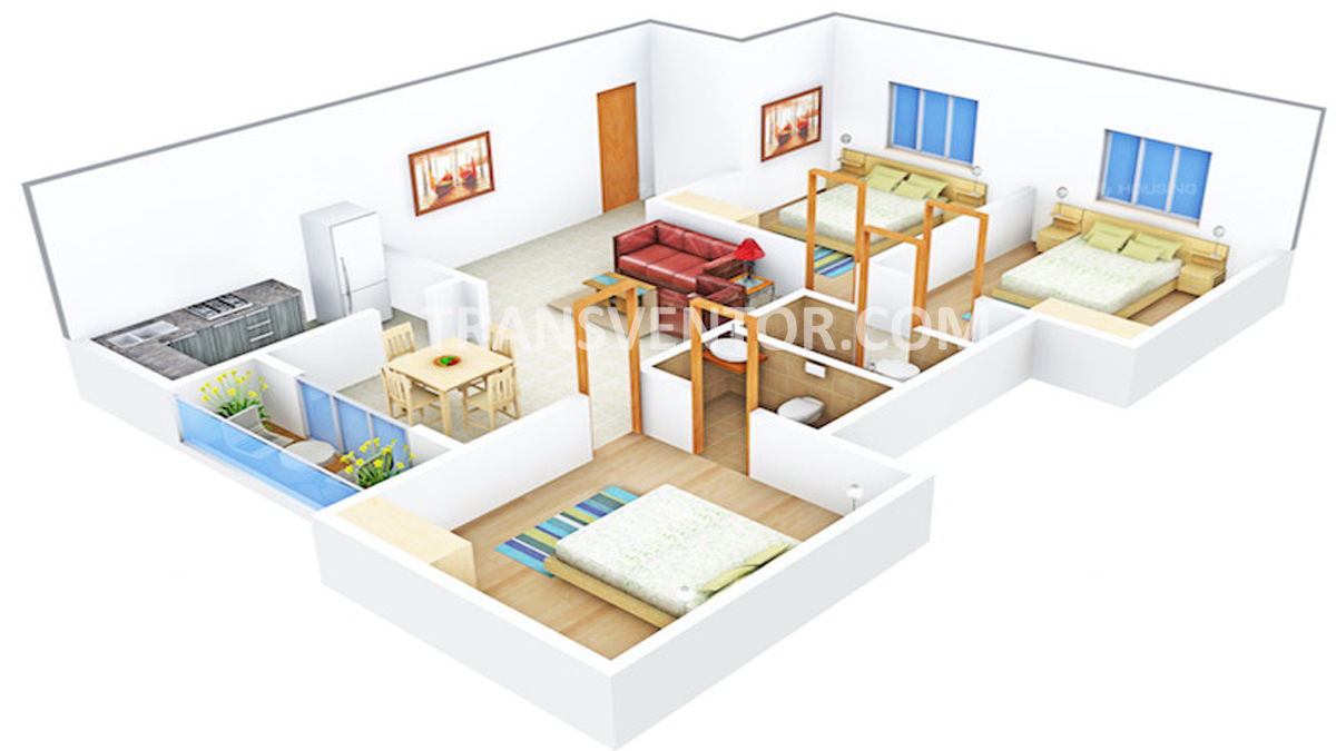 Sugam Sudhir Floor Plan 2