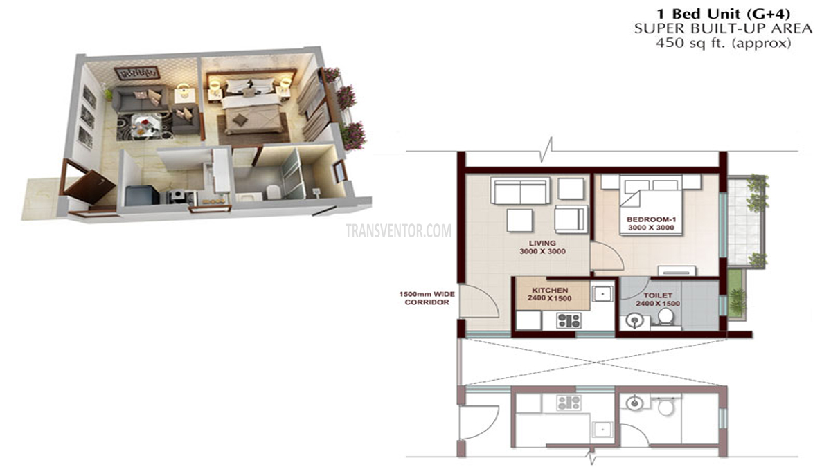 Vedic Swayam City Floor Plan 2