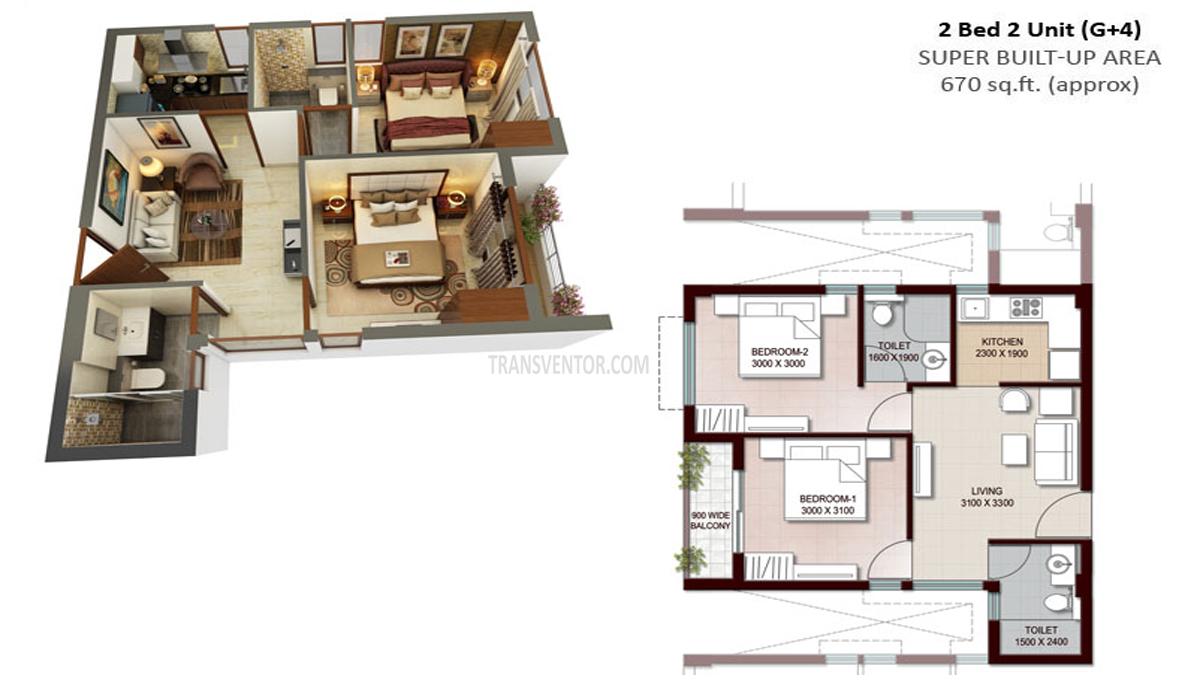 Vedic Swayam City Floor Plan 3
