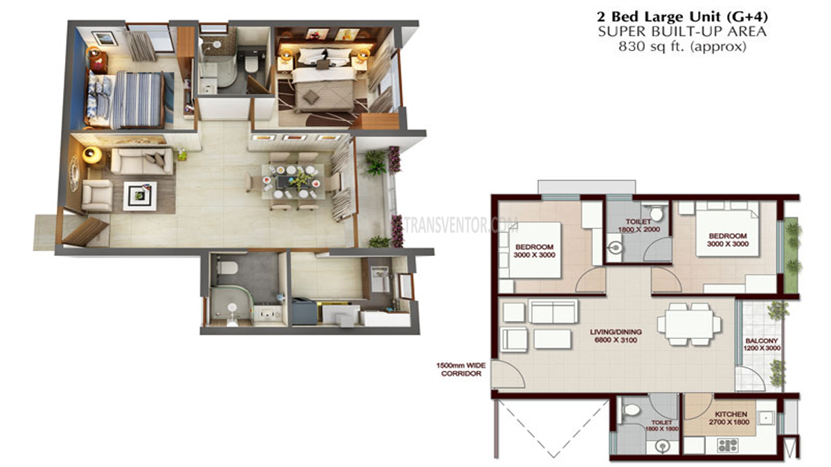 Vedic Swayam City Floor Plan 4