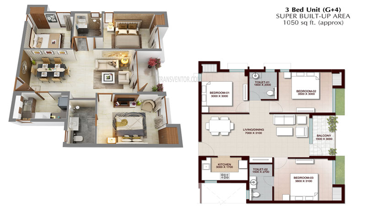 Vedic Swayam City Floor Plan 7