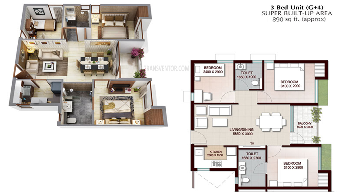 Vedic Swayam City Floor Plan 6