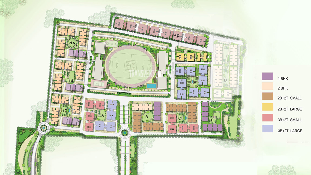 Vedic Swayam City Floor Plan 1