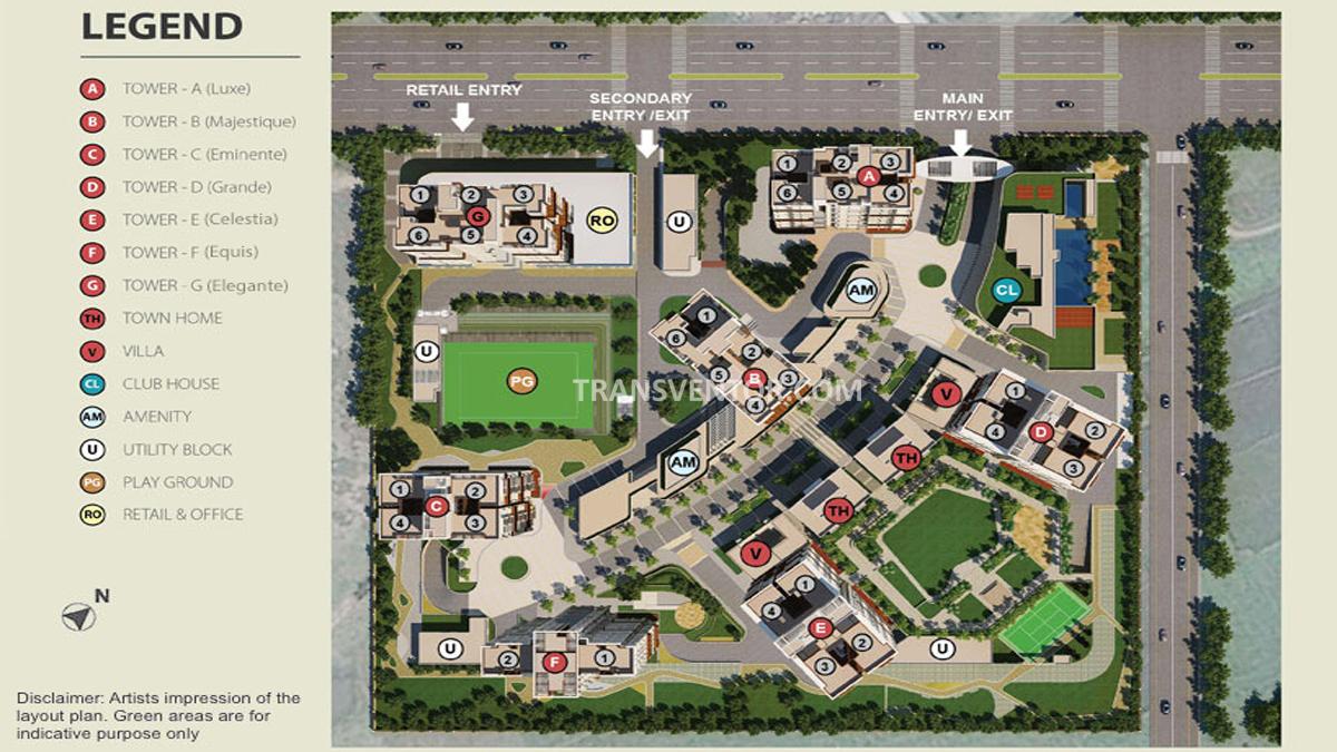 Tata Avenida Floor Plan 1