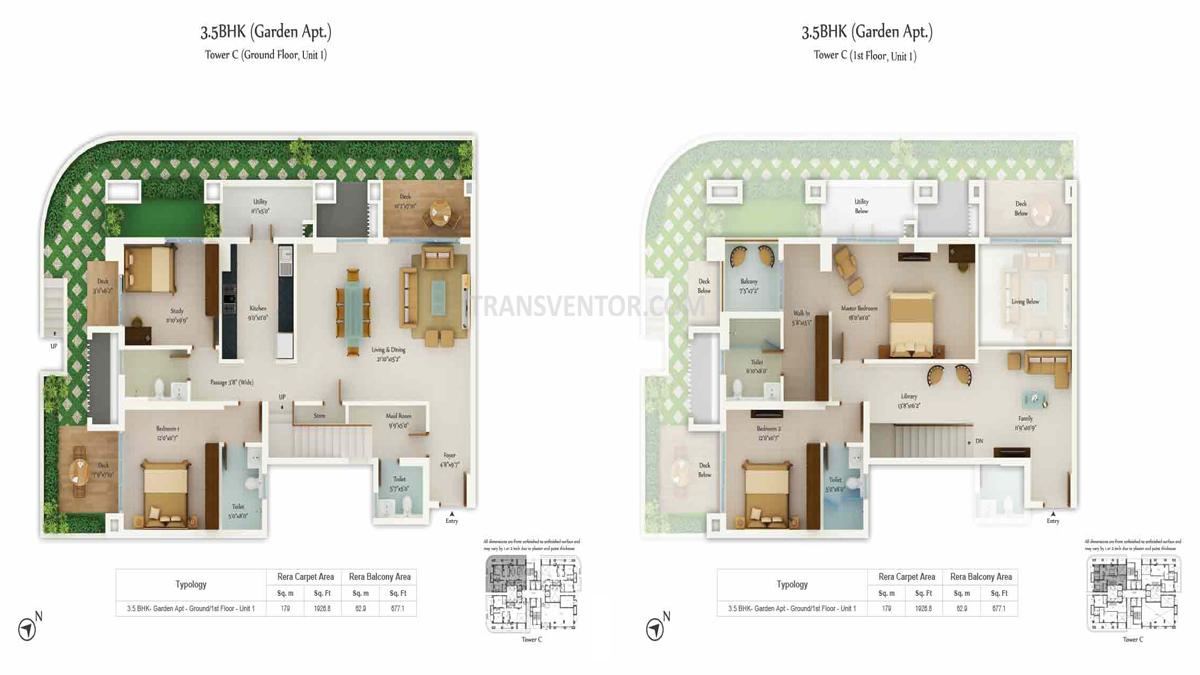 Tata Avenida Floor Plan 6