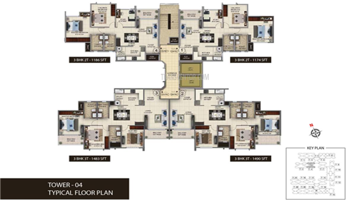Salarpuria Sattva Anugraha Floor Plan 4