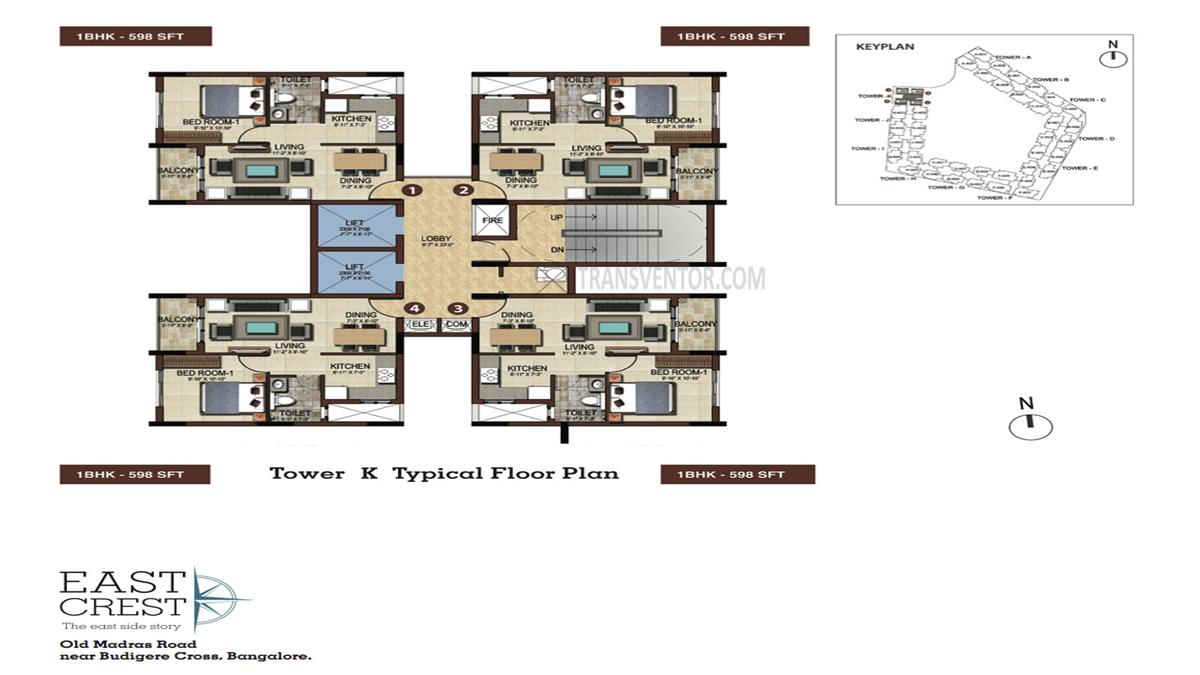 Salarpuria Sattva East Crest Floor Plan 5