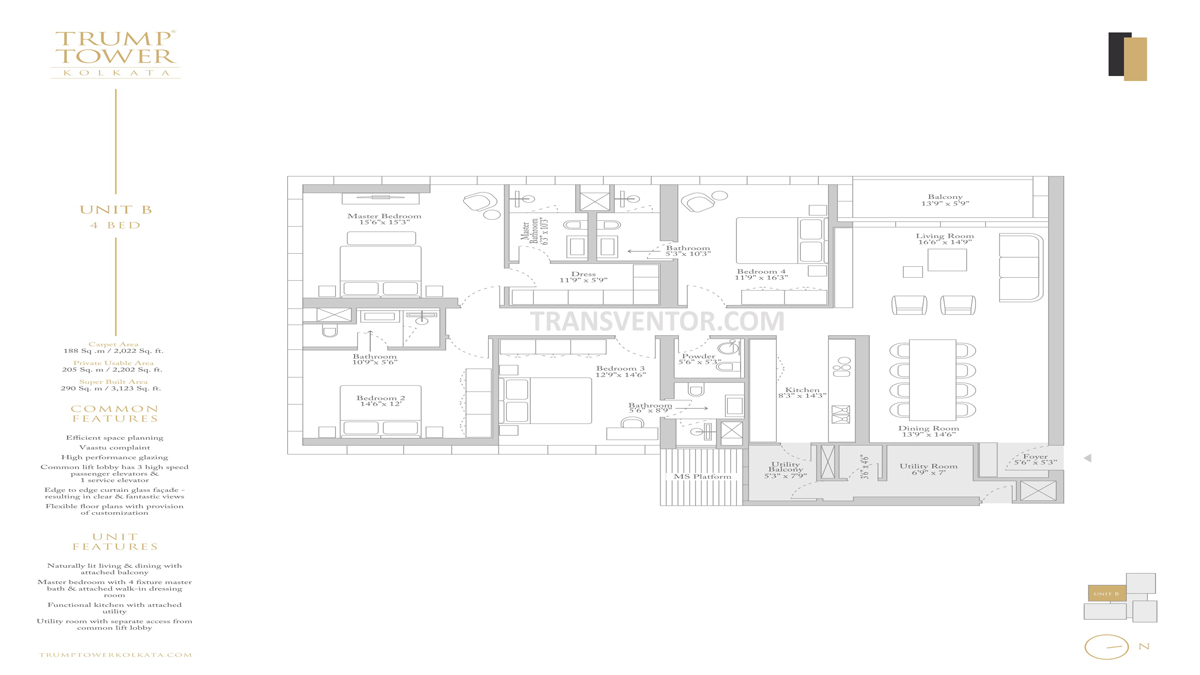 Trump Tower Floor Plan 2