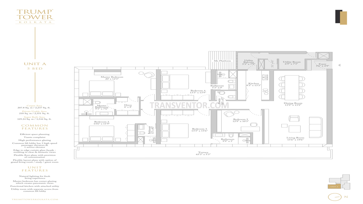 Trump Tower Floor Plan 3