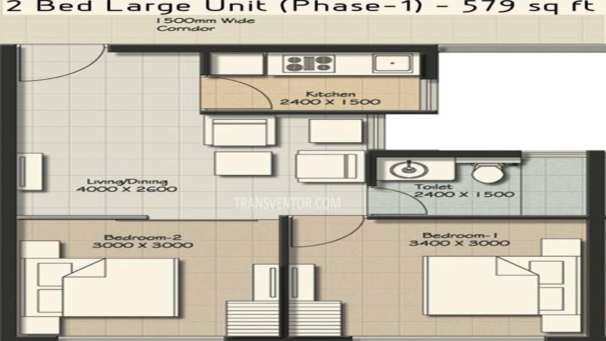 Vedic Ecohomes Floor Plan 2