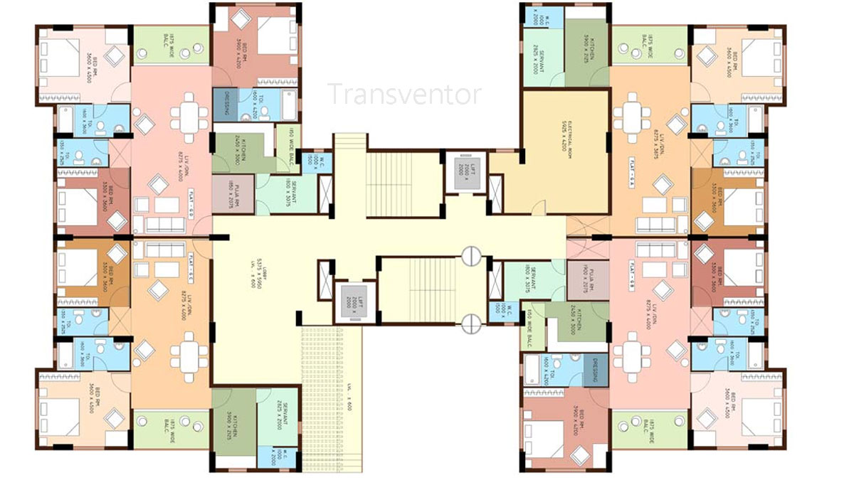 Greenfield Ambition Floor Plan 4
