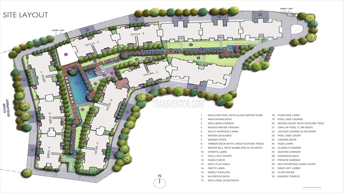 Lodha Eternis Floor Plan 1