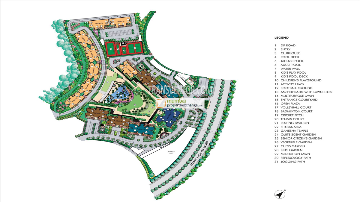 Lodha Splendora Floor Plan 1