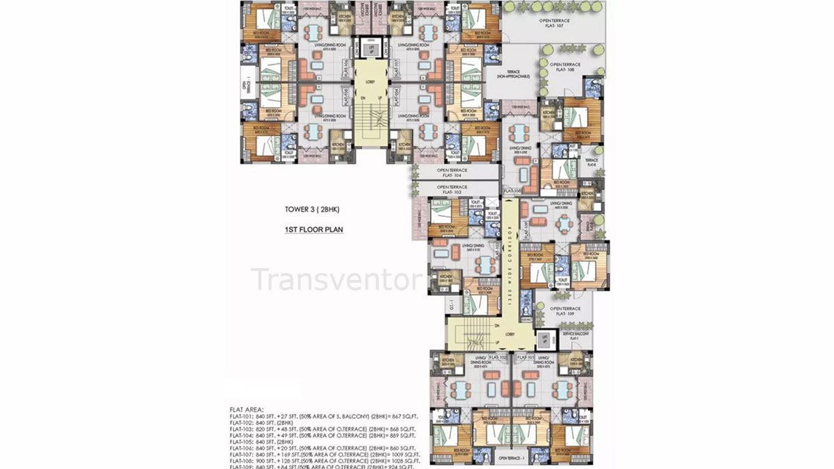 Mayfair Platinum Floor Plan 12