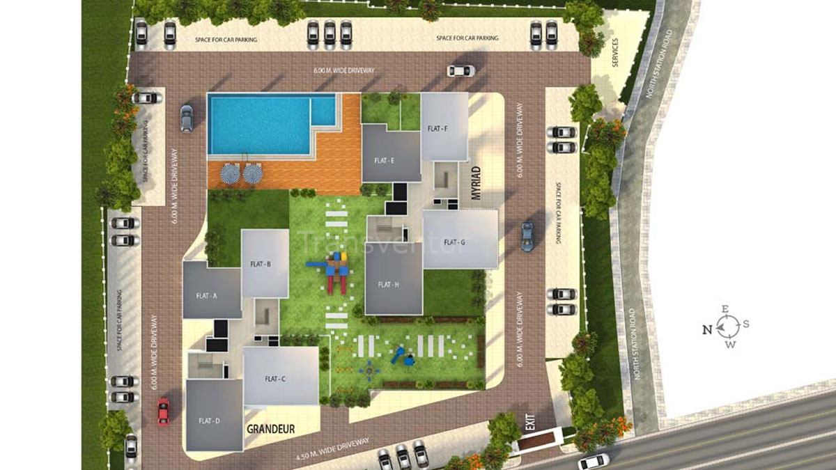 Oswal Orchard 126 Floor Plan 1