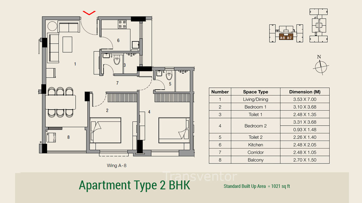 Ambuja Udvita The Condoville Floor Plan 6