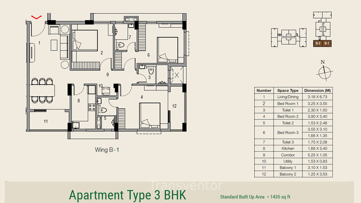 Ambuja Udvita The Condoville Floor Plan 8