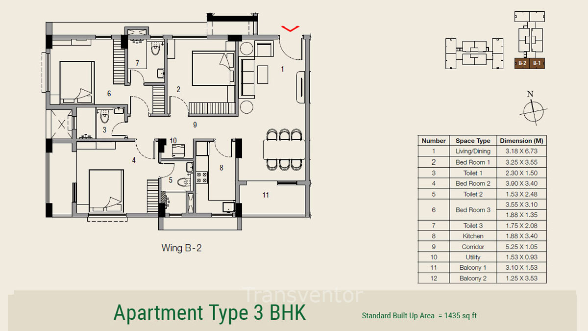 Ambuja Udvita The Condoville Floor Plan 9