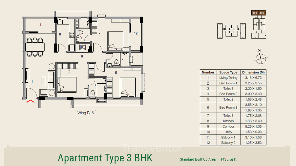 Ambuja Udvita The Condoville Floor Plan 10