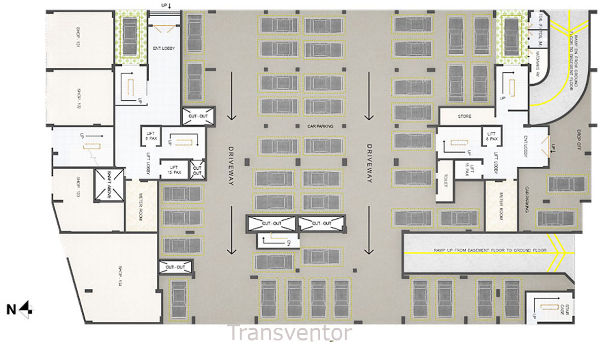 Primarc Aangan Floor Plan 3