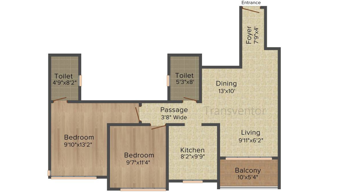 Ideal Heights Phase II Floor Plan 1