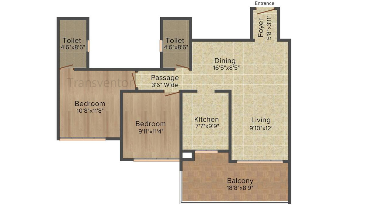 Ideal Heights Phase II Floor Plan 2