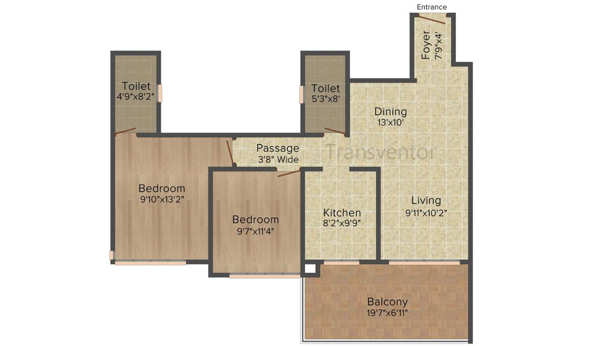 Ideal Heights Phase II Floor Plan 3