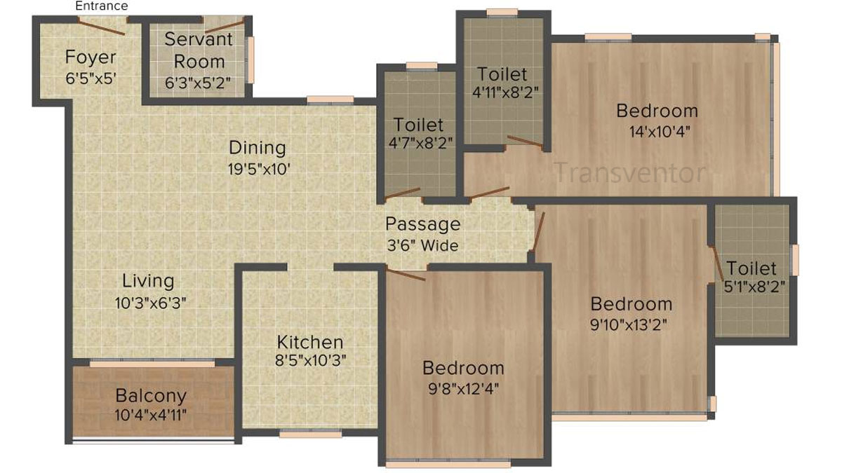 Ideal Heights Phase II Floor Plan 4