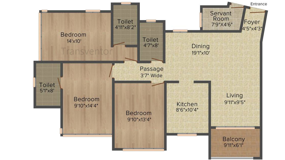 Ideal Heights Phase II Floor Plan 5