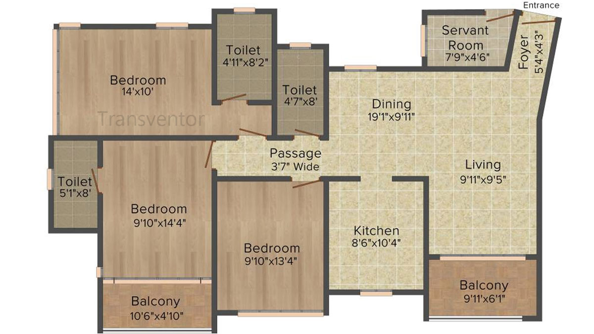 Ideal Heights Phase II Floor Plan 6