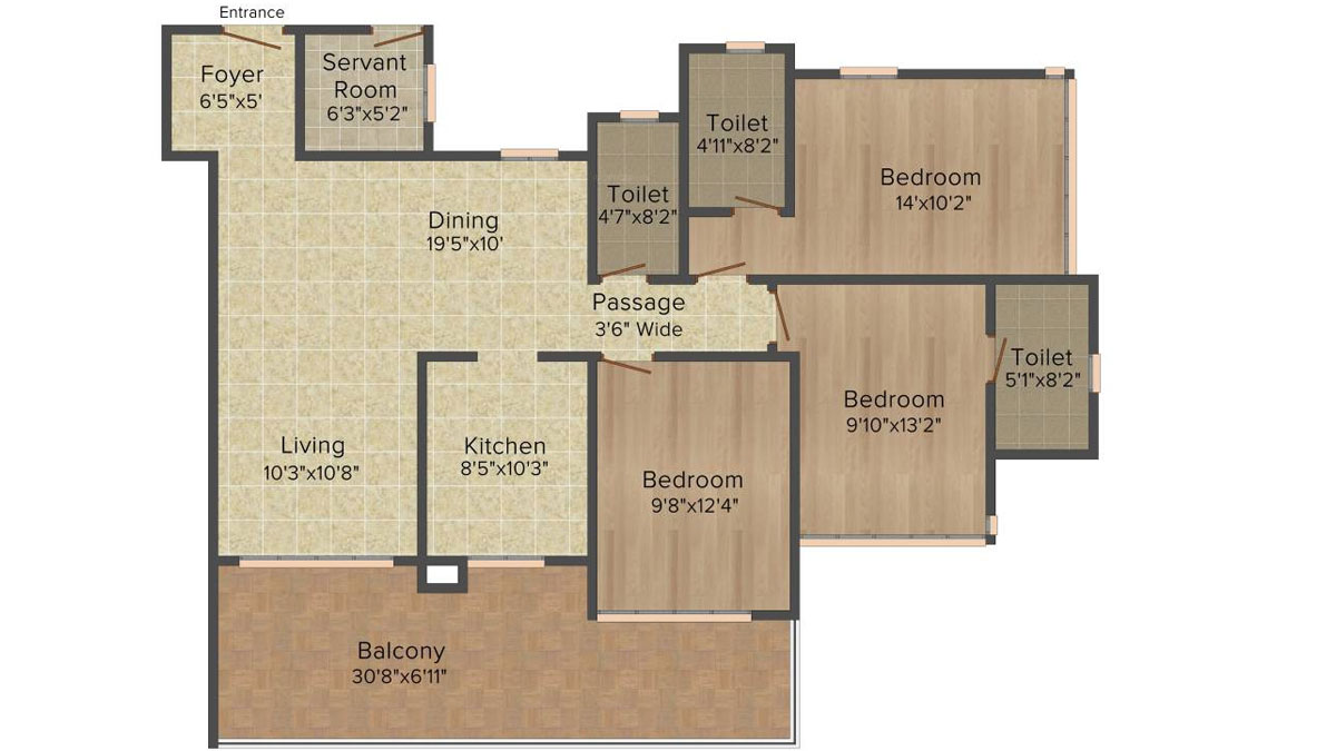 Ideal Heights Phase II Floor Plan 7