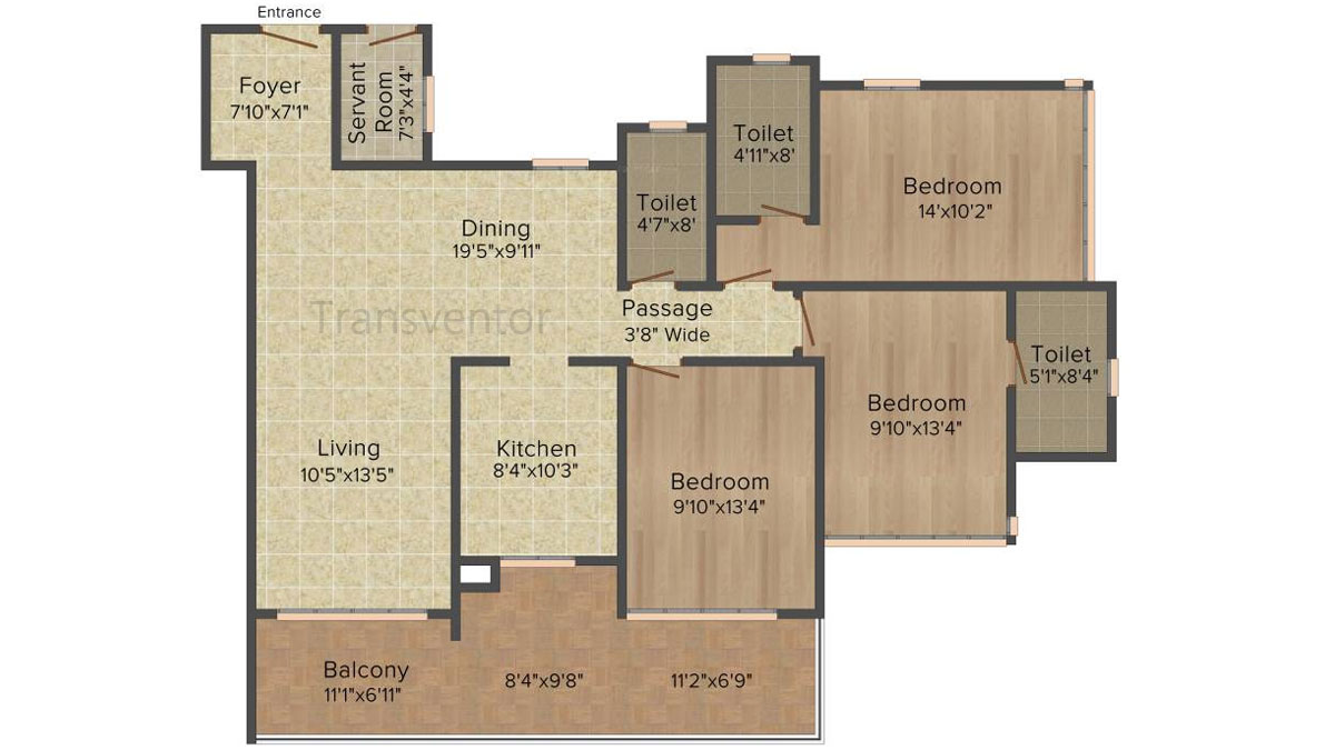 Ideal Heights Phase II Floor Plan 8