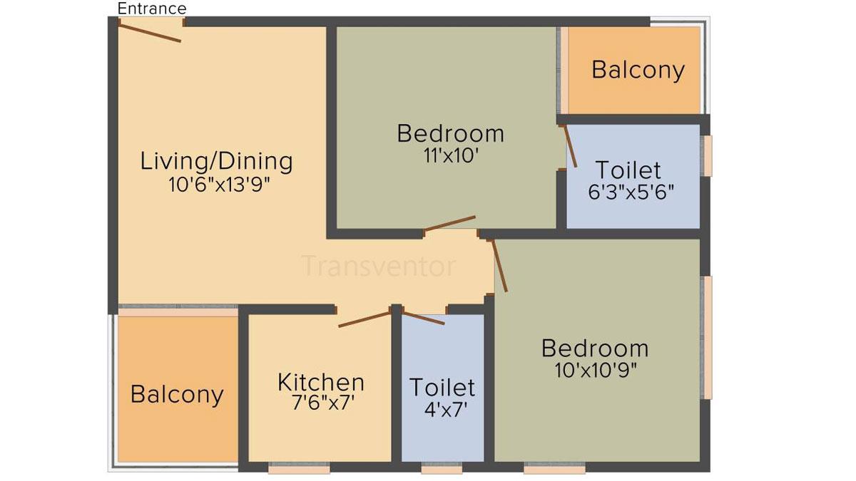 Jalan NVR Pride Floor Plan 4