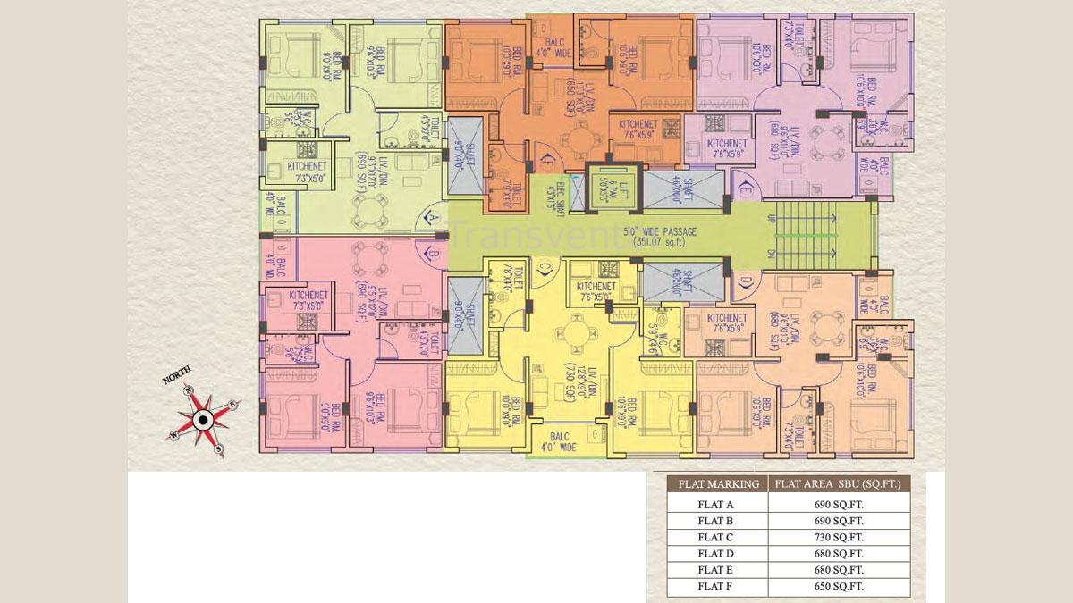 Magnolia Apsara Floor Plan 1