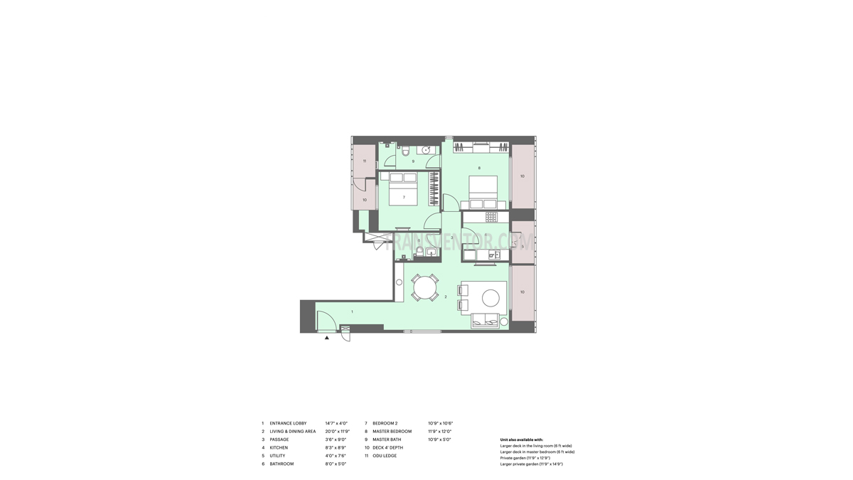 Lodha Altia Floor Plan 4