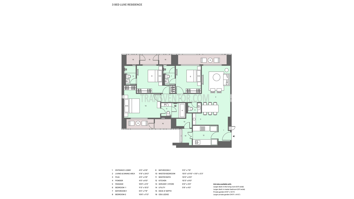 Lodha Altia Floor Plan 5