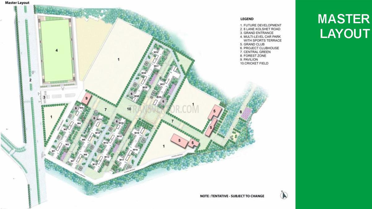 Lodha  Amara Floor Plan 1