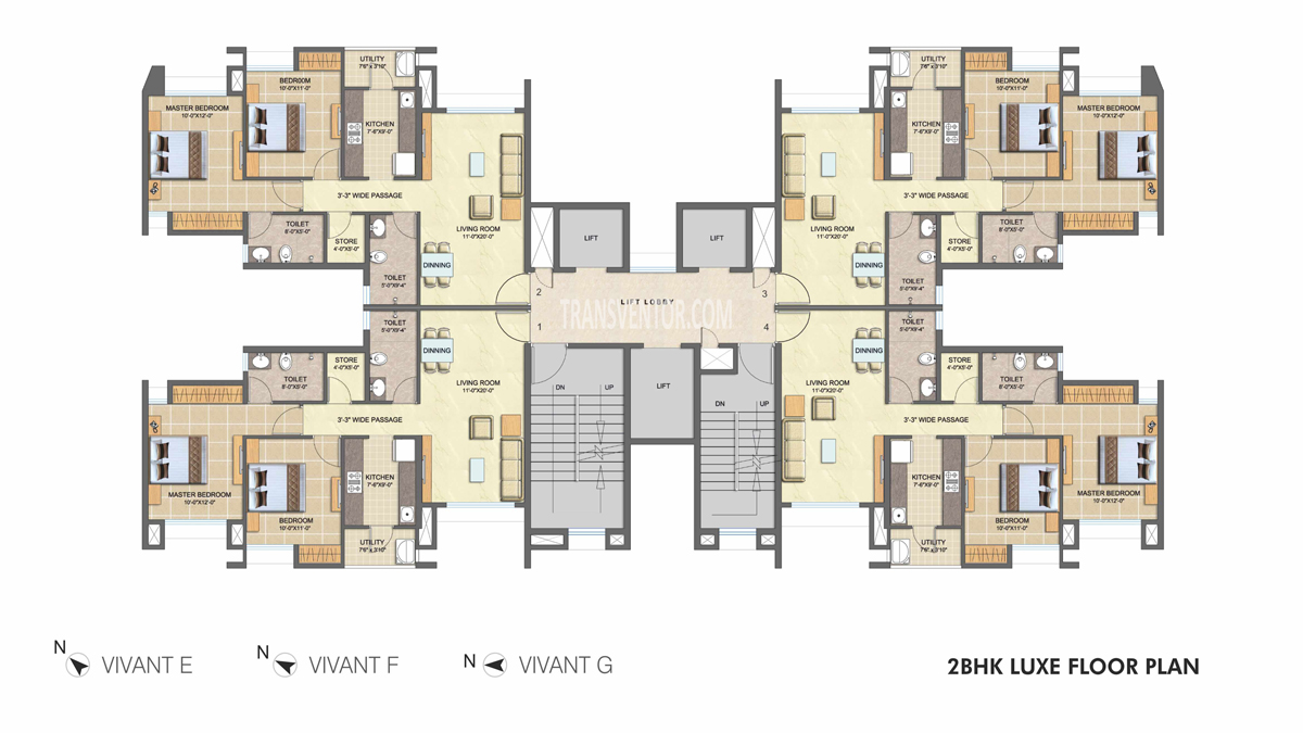 Lodha Splendora Floor Plan 3