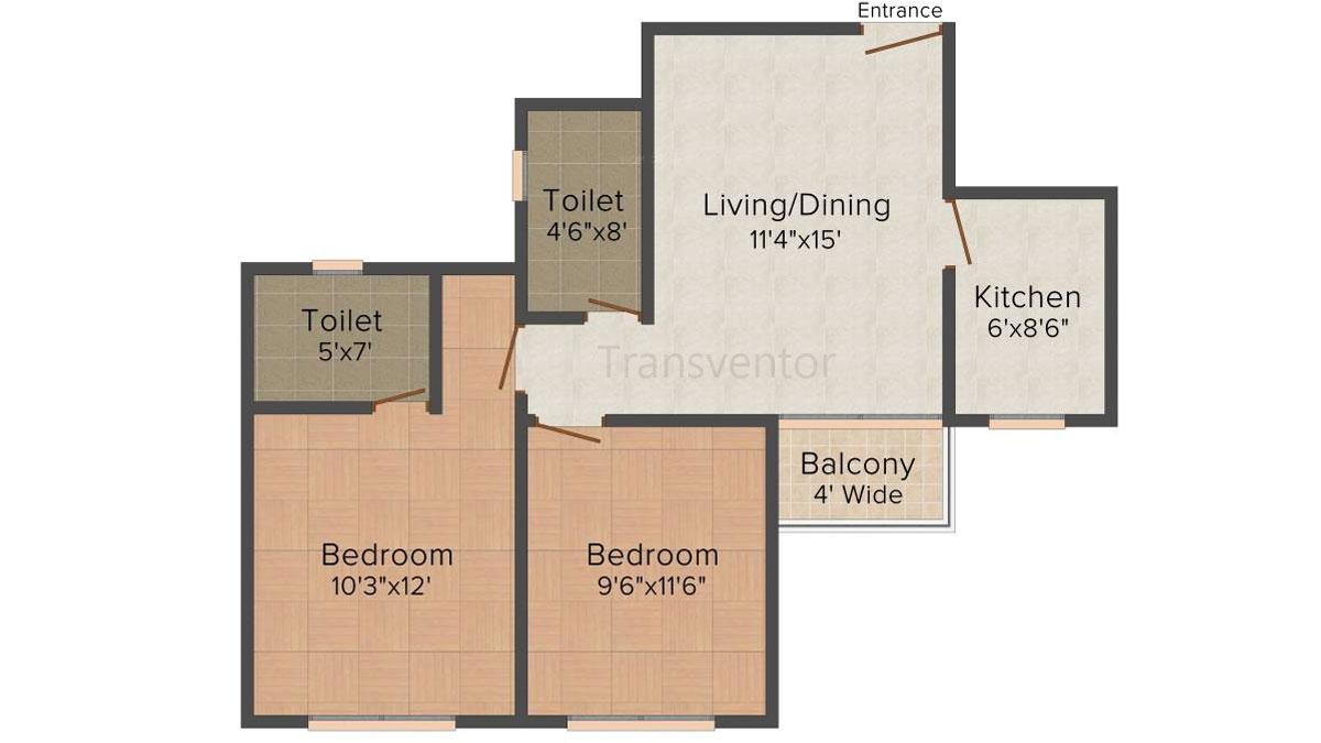 Loharuka Freshia Floor Plan 2